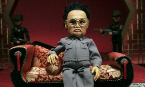 Kim Jong-il, en su papel en Team América.